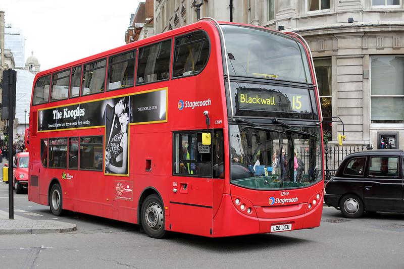 12149 LX61DCU, Trafalgar Square 2/5/2014