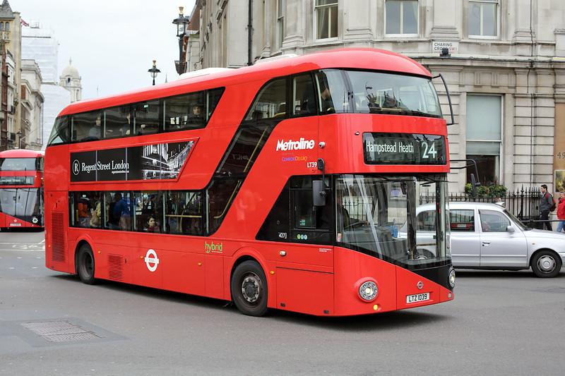 LT39 LTZ1039, Trafalgar Square 2/5/2014