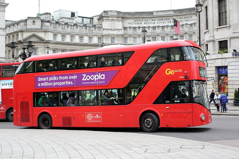 LT66 LTZ1066, Trafalgar Square 2/5/2014