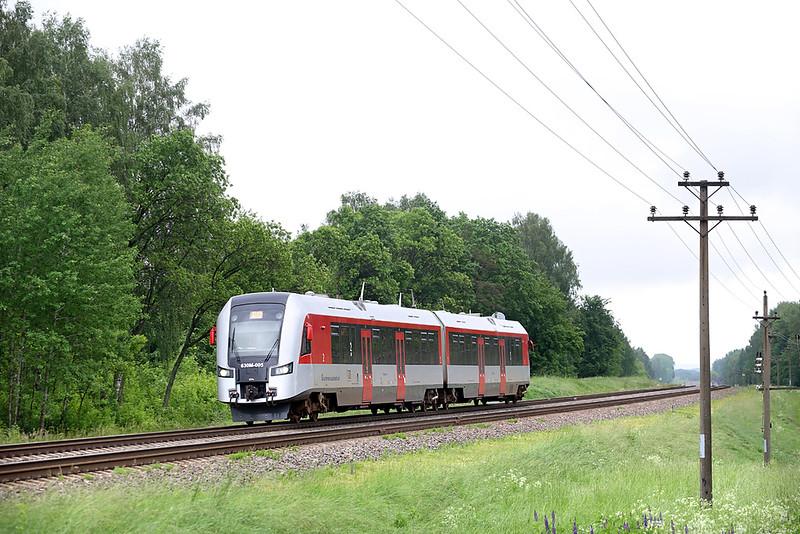 630M-005 Sadūniškės 2/6/2014<br /> G803 1010 Minsk Pasažierskii-Vilnius