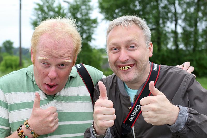 Neil Caplan and Richard Stiles, Sadūniškės, Lithuania 2/6/2014