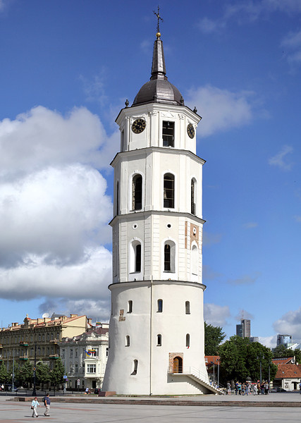 Cathedral Belltower, Vilnius, Lithuania 3/6/2014