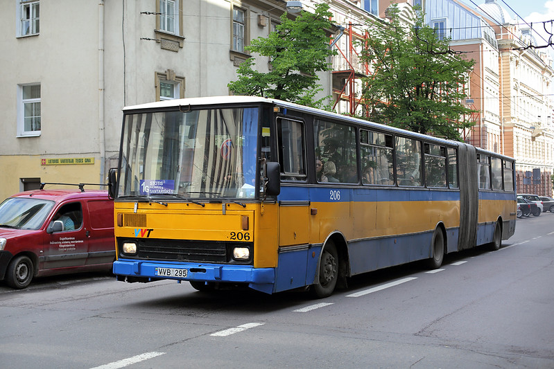 206 VVB-295, Jogailos gatvė 3/6/2014
