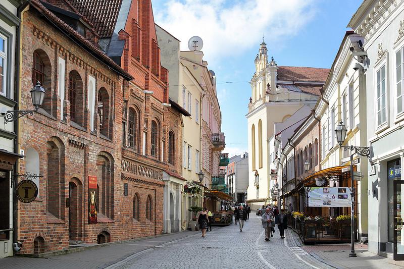 Pilies gatvė, Vilnius, Lithuania 3/6/2014