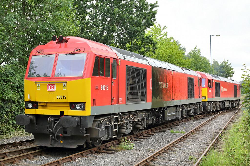 60015 and 60063, Preston Docks 3/7/2014