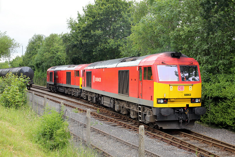 60063 and 60015, Preston Docks 3/7/2014