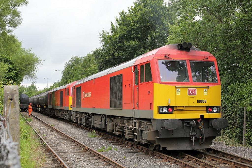 60063 and 60015, Preston Docks 3/7/2014<br /> 6E32 0855 Preston Docks-Lindsey OR