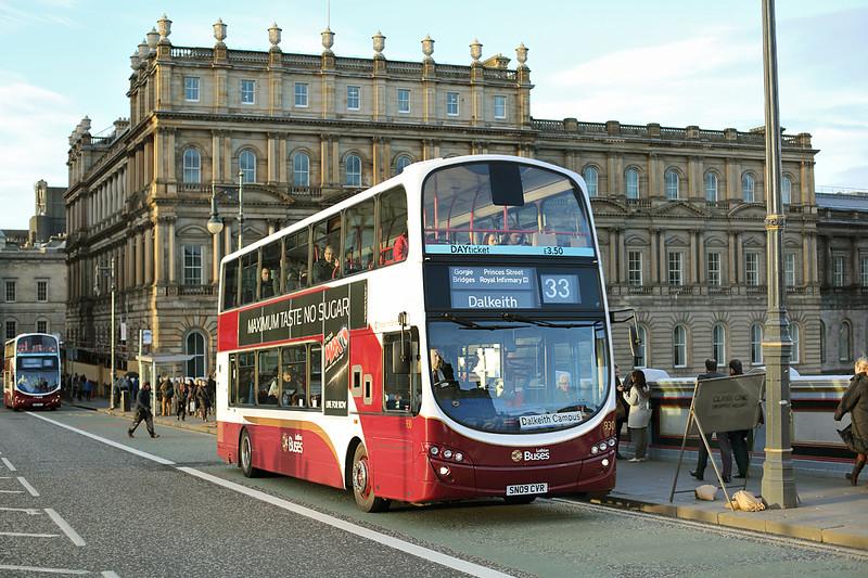 930 SN09CVR, Edinburgh 4/3/2014