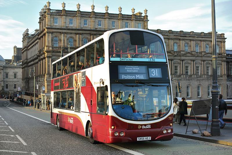 787 SN56AEJ, Edinburgh 4/3/2014