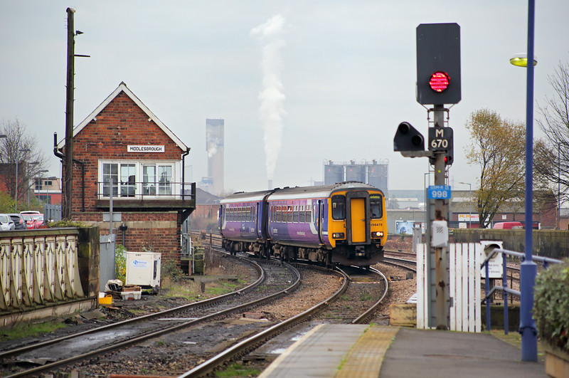 156475 Middlesbrough 4/12/2014<br /> 2D40 1404 Middlesbrough-Whitby