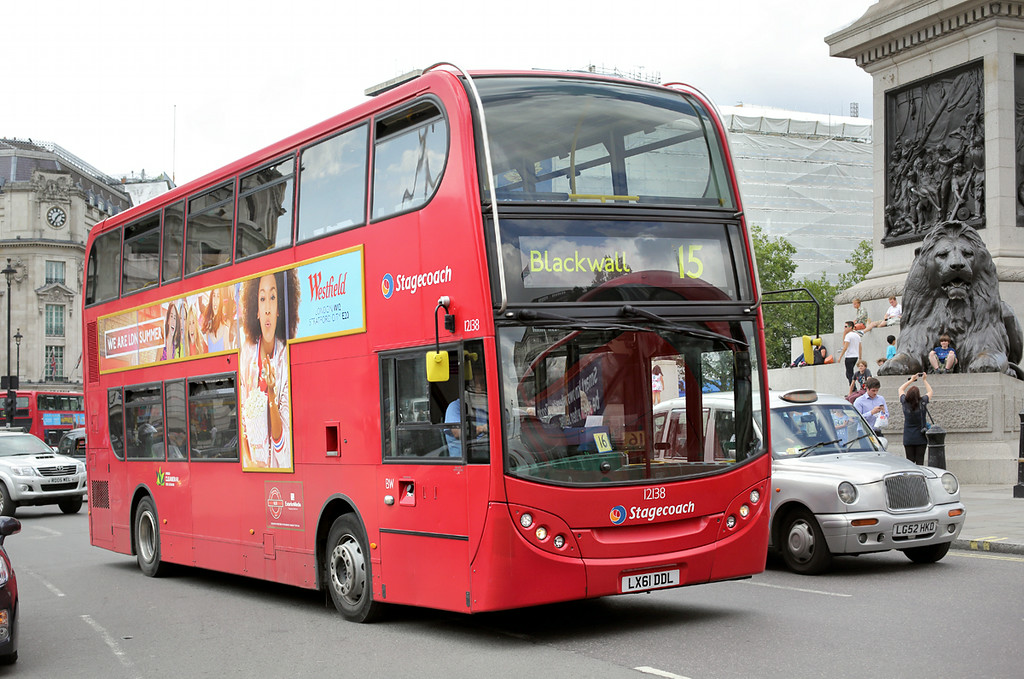 12138 LX61DDL, Trafalgar Square 6/8/2014