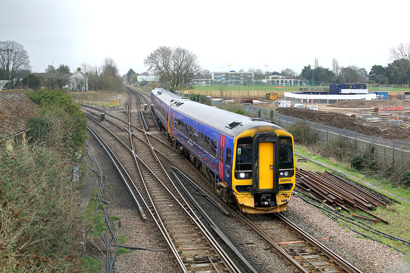 158956 Havant 7/3/2014<br /> 1V94 0859 Brighton-Great Malvern