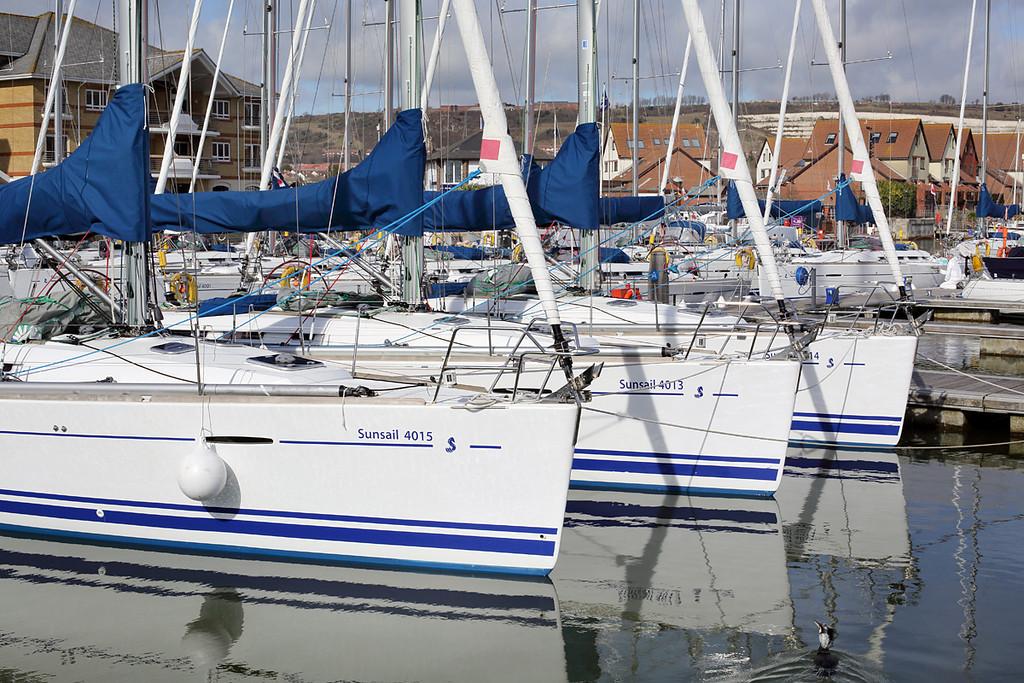 Port Solent Marina, 7/3/2014
