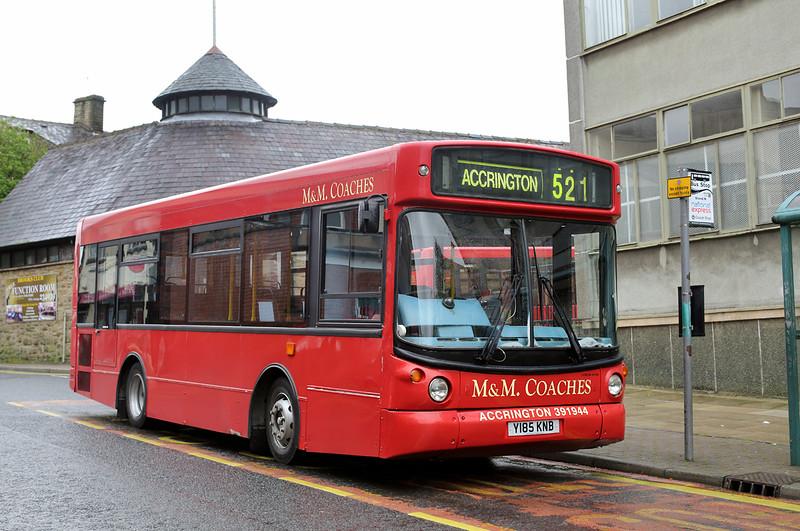 Y185KNB, Accrington 7/5/2014