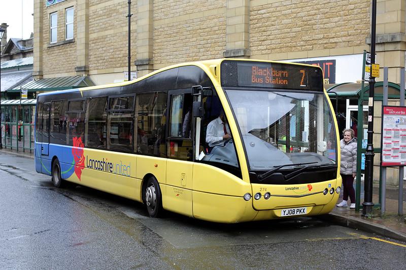 274 YJ08PKX, Accrington 7/5/2014