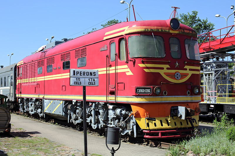 TЗП60-1206 Riga LDV Museum 7/6/2014