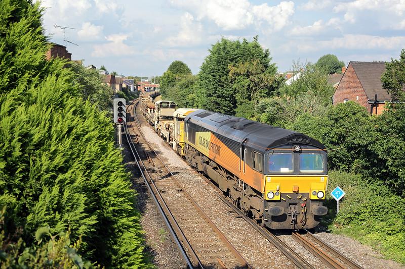66847 Egham 7/8/2014<br /> 6Y42 1454 Hoo Junction-Eastleigh East Yard