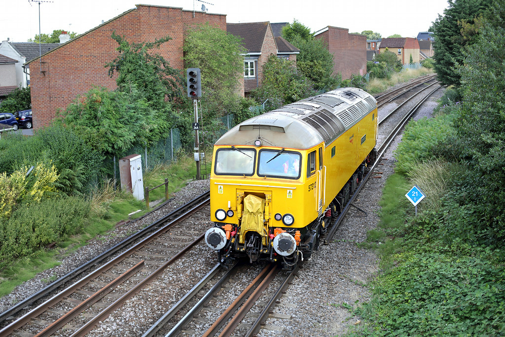 57312 Egham 7/8/2014<br /> 0Z57 1100 Old Oak Common TMD-Eastleigh Works