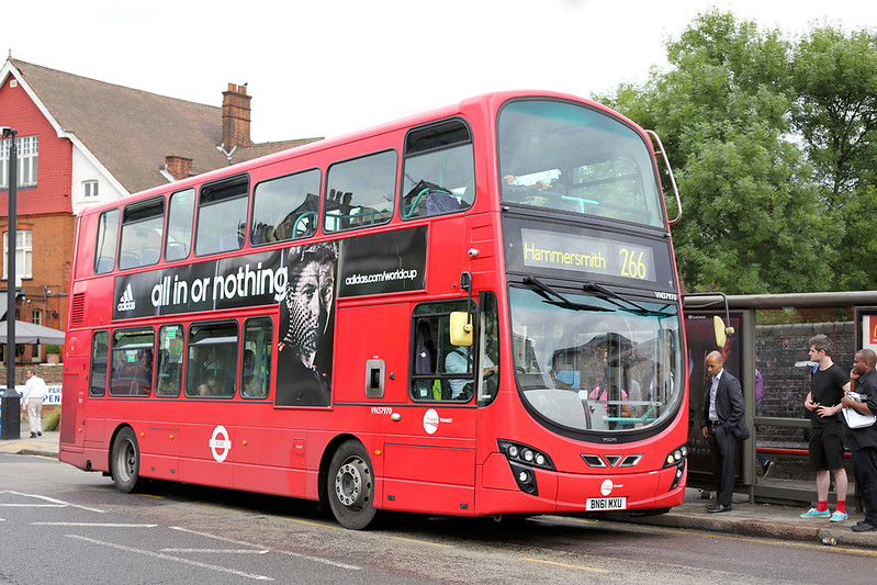 VN37970 BN61MXU, Willesden 8/7/2014