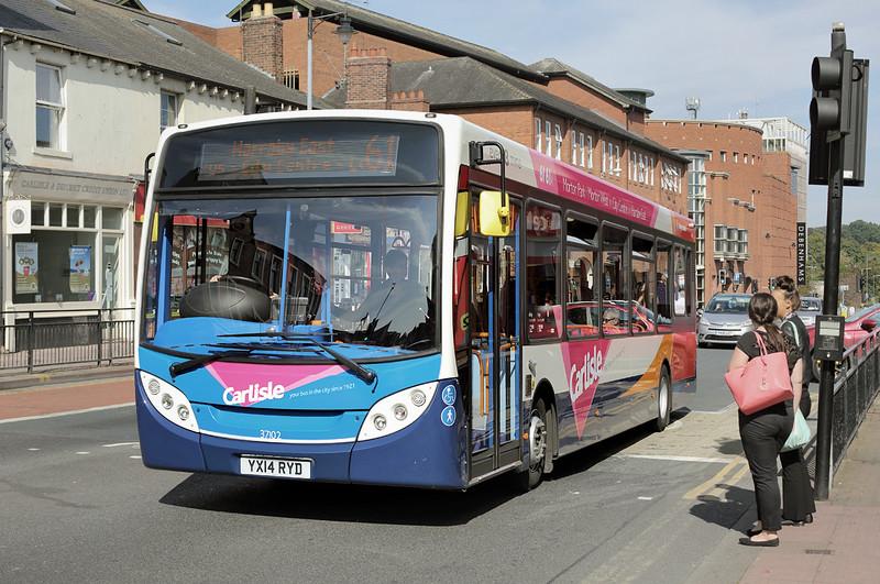 37102 YX14RYD, Carlisle 8/9/2014