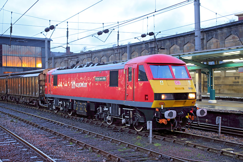 90036 Carlisle 8/12/2014<br /> 6M03 0522 Shieldmuir-Warrington RMT