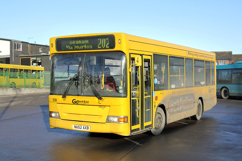 538 NA52AXB, Peterlee 8/12/2014