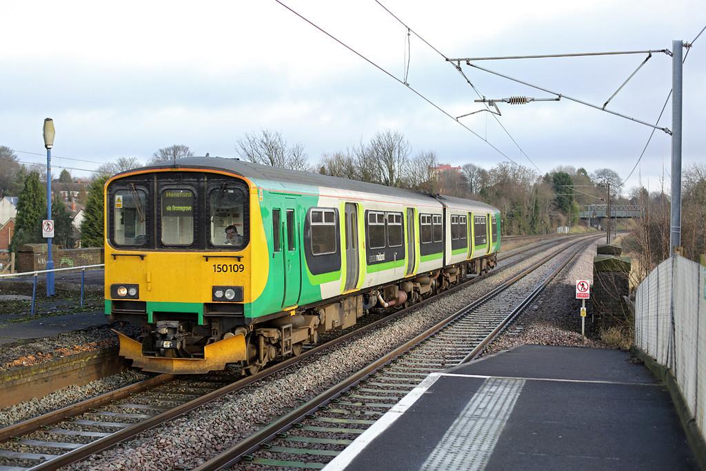 150109 Northfield 10/1/2014<br /> 1V25 1049 Birmingham New Street-Hereford