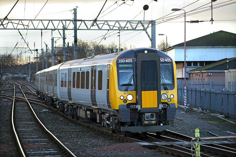 350405 Carlisle 10/2/2014<br /> 1S32 0558 Manchester Airport-Edinburgh