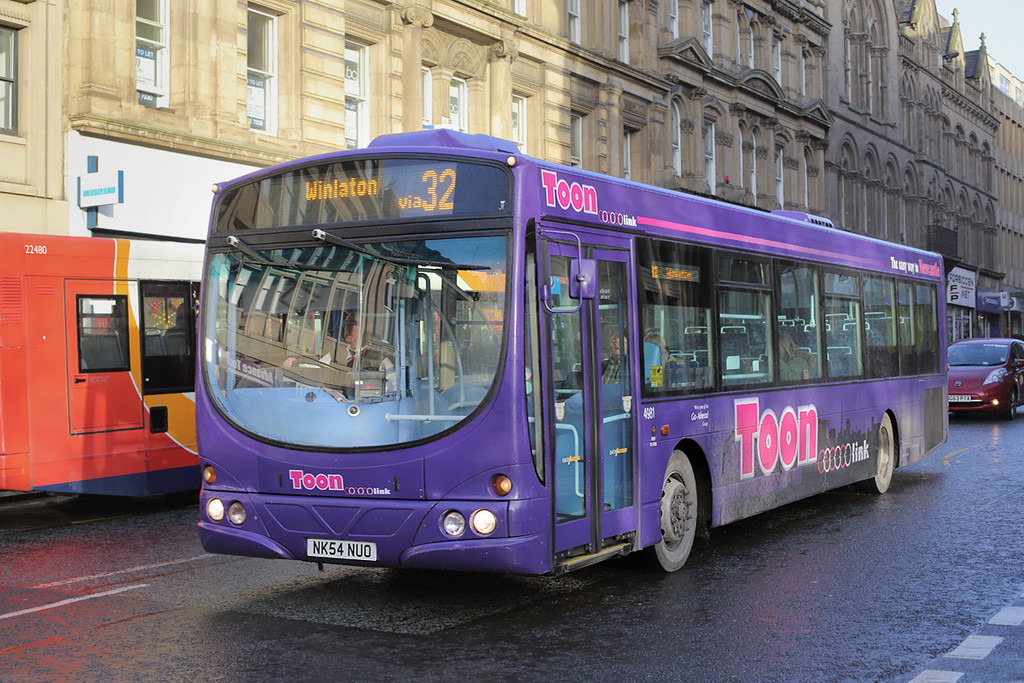 4981 NK54NUO, Newcastle 10/12/2014