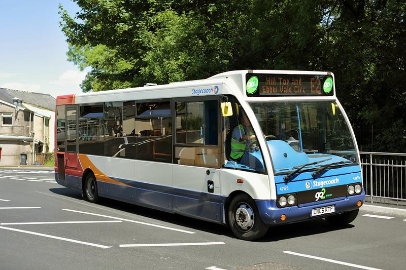 47195 CN05KTP, Ebbw Vale 11/7/2014