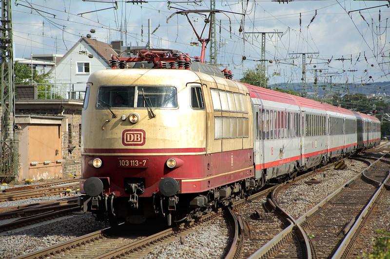 103113 Koblenz Hbf 12/8/2014<br /> IC119 0727 Münster Hbf-Innsbruck Hbf