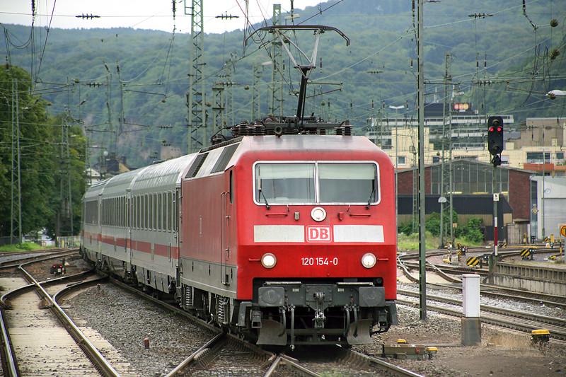 120154 Koblenz Hbf 13/8/2014<br /> IC2010 0611 Tübingen Hbf-Düsseldorf Hbf