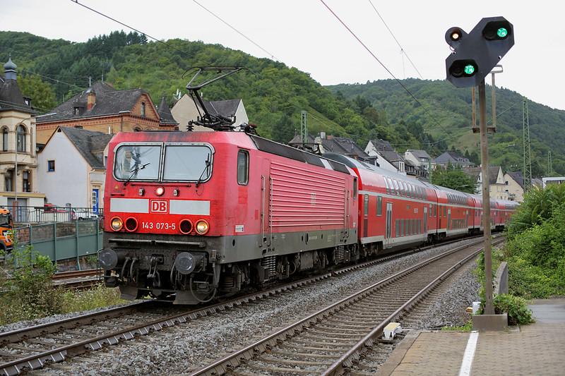 143073 Boppard Hbf 13/8/2014<br /> RE4289 1402 Koblenz Hbf-Frankfurt (Main) Hbf