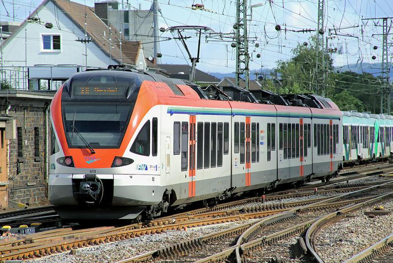 413 Koblenz Hbf 12/8/2014<br /> RB25006 0753 Frankfurt (Main) Hbf-Neuwied