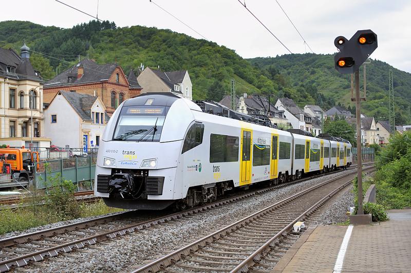 460010 Boppard Hbf 13/8/2014<br /> MRB25337 1050 Köln Messe/Deutz-Mainz Hbf