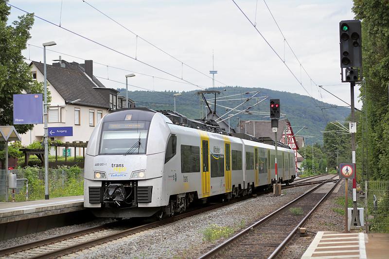 460001 Rhens 13/8/2014<br /> MRB25329 0850 Köln Messe/Deutz-Mainz Hbf