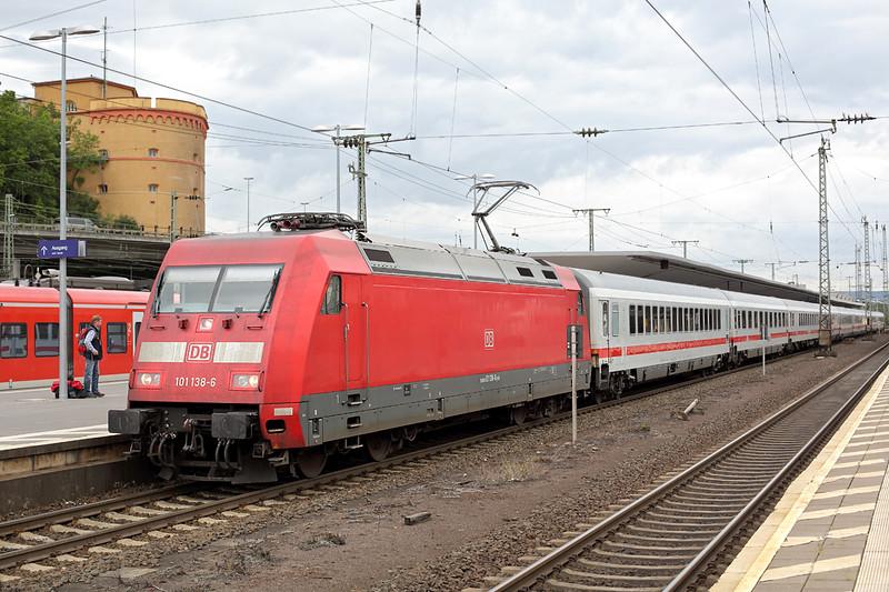 101138 Koblenz Hbf 13/8/2014<br /> IC2013 0601 Magdeburg-Oberstdorf