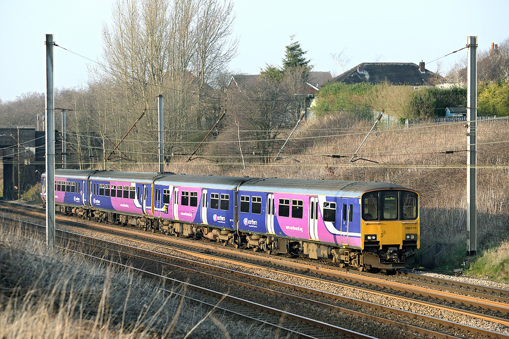 150111 and 156421, Lostock Hall 12/3/2014