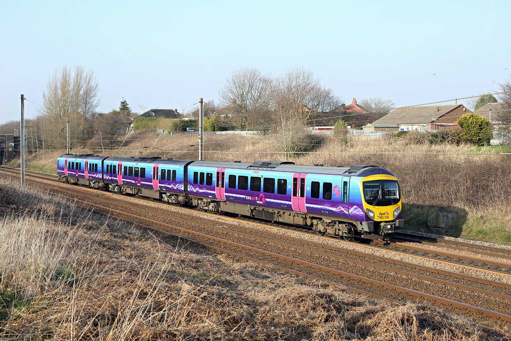 185106 Lostock Hall 12/3/2014<br /> 1C60 1500 Manchester Airport-Oxenholme Lake District
