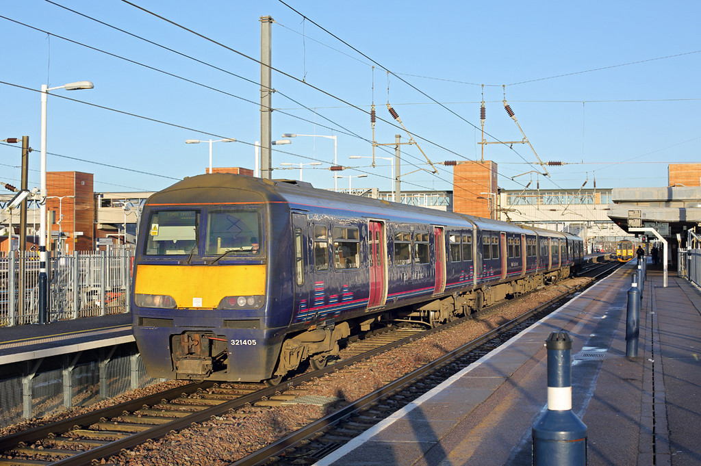 321405 Peterborough 13/1/2014<br /> 1P55 0926 Peterborough-London Kings Cross