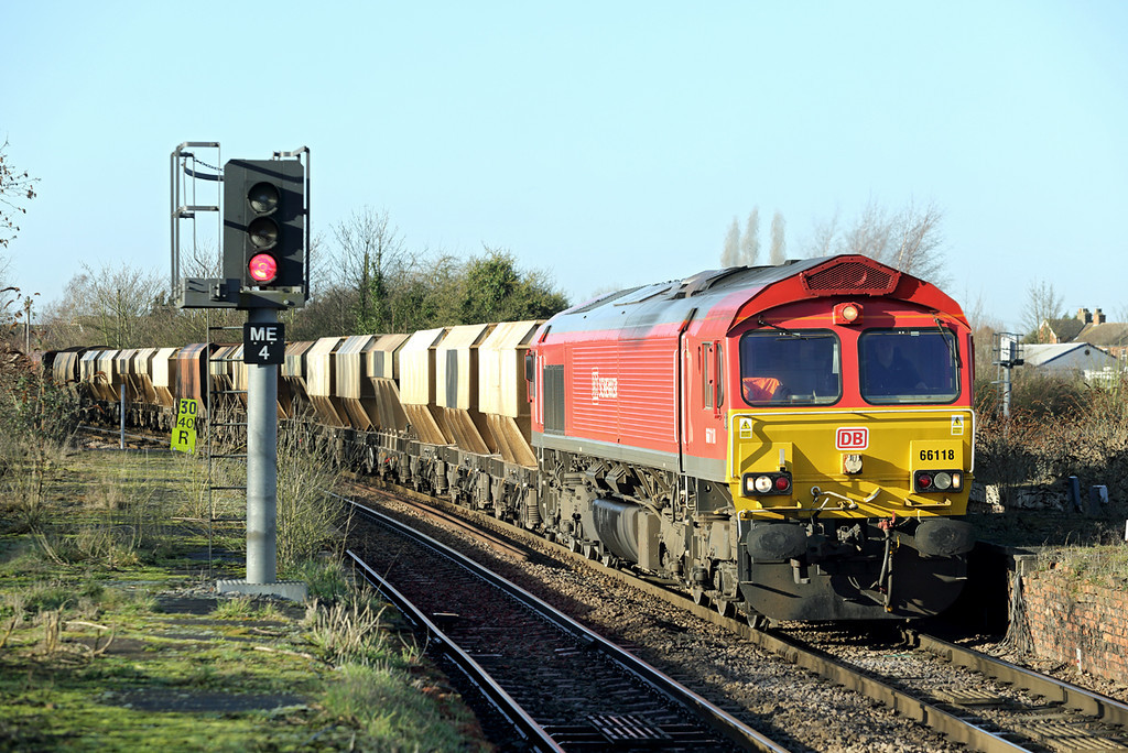 66118 March 13/1/2014<br /> 6L43 0855 Mountsorrel-Kennet