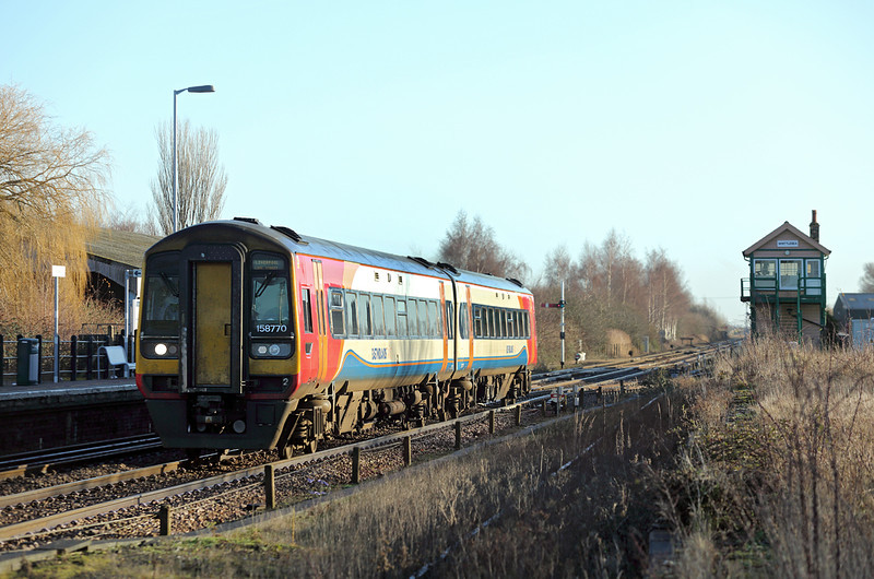 158770 Whittlesea 13/1/2014<br /> 1R74 0857 Norwich-Liverpool Lime Street