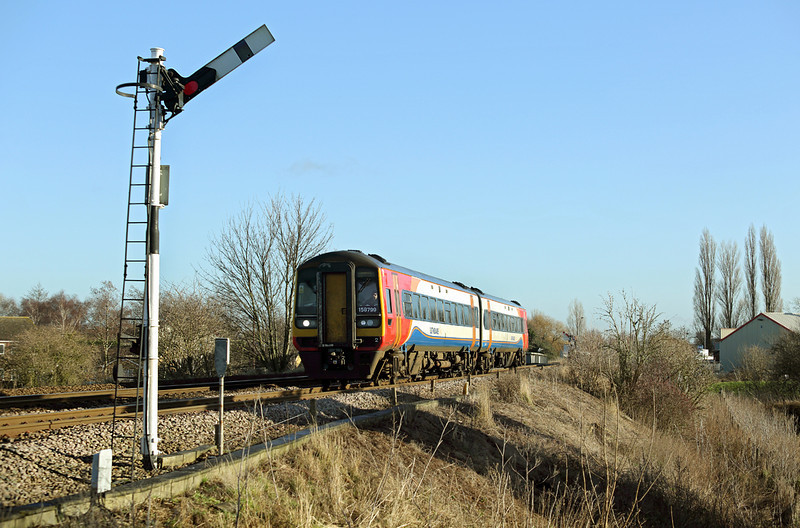 158799 Whittlesea 13/1/2014<br /> 1R78 0957 Norwich-Liverpool Lime Street