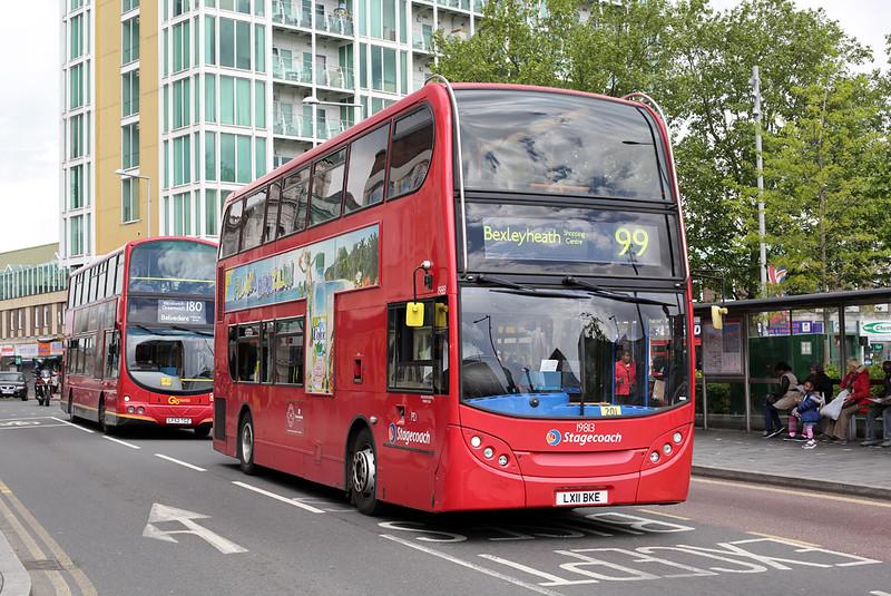 19813 LX11BKE, Woolwich 13/5/2014