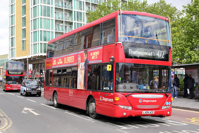 15054 LX09ACO, Woolwich 13/5/2014