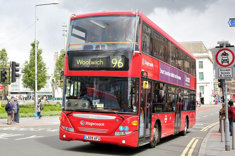 15083 LX09AFU, Woolwich 13/5/2014
