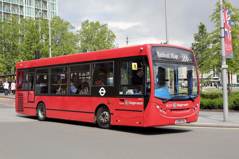 36337 LX58CDU, Woolwich 13/5/2014