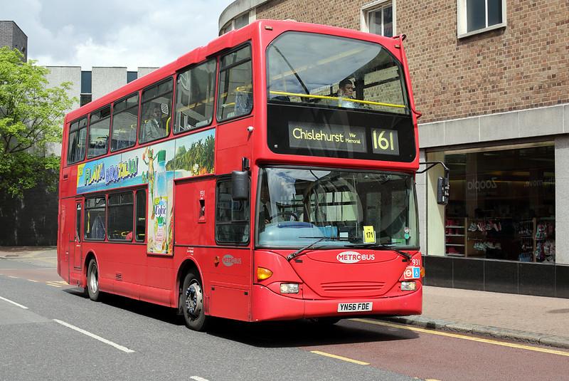 931 YN56FDE, Woolwich 13/5/2014