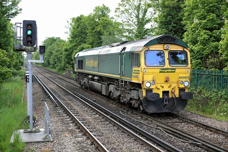 66563 Bexley 13/5/2014<br /> 0Y85 0813 Stoke Gifford-Hoo Junction