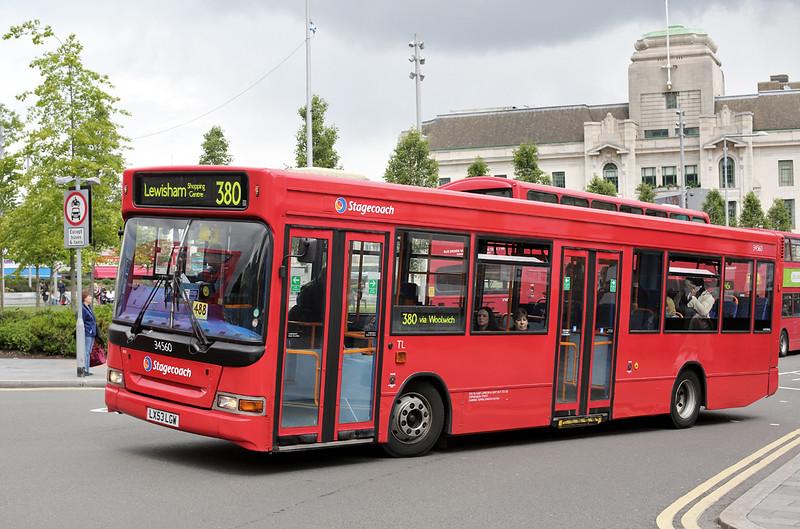 34560 LX53LGW, Woolwich 13/5/2014